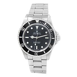Rolex Submariner Stainless Steel Oyster Automatic Black Men's Watch 14060