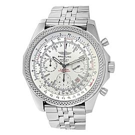 Breitling Bentley Motors Stainless Steel Automatic Silver Men's Watch A25362