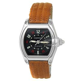 Cartier Roadster Stainless Steel Automatic Black Men's Watch W62002V3