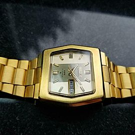 Men's Seiko DX Ref.6106-5529 Gold-Plated 37mm Automatic, c.1970s Vintage LA67