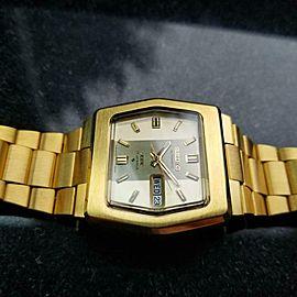 Men's Seiko DX Ref.6106-5529 Gold-Plated 37mm Automatic, c.1970s Vintage LA67