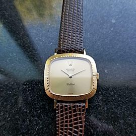 Ladies Rolex Cellini Geneve Ref.4082 25mm 18k Solid Gold Manual-Wind 1980s L64