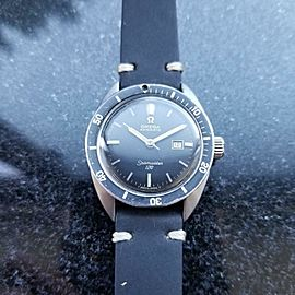 OMEGA Men's 31mm Midsize 1960s Seamaster 120 Automatic Date Swiss Vintage LV617