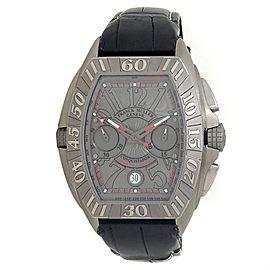 Franck Muller Conquistador Sport GPG Titanium Grey Men's Watch 8900 CC DT GPG