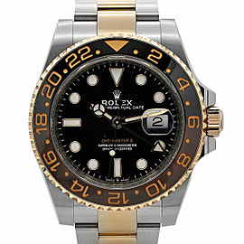 Rolex GMT-Master II Root Beer 40 Steel, Everose Gold, Black Dial, 126711CHNR
