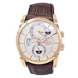 Parmigiani Fleurier Tonda 18k Rose Gold White Men's Watch PFC231-1002400-HA1241