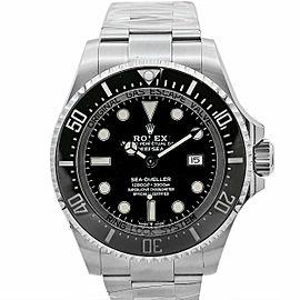 Men's Rolex Deepsea 44mm, Stainless Steel, Black dial, 126660
