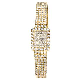 Piaget Tradition 18k Yellow Gold Diamonds Quartz Ladies Watch 15241 C626