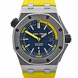Men's Audemars Piguet Royal Oak Offshore Diver 42 Blue dial 15710ST.OO.A027CA.01