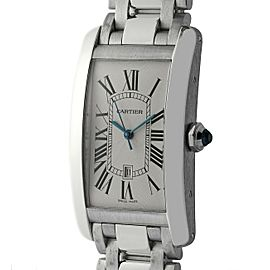 Cartier Tank Americaine W26055L1 Gold 27mm Watch