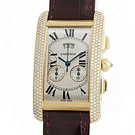 Cartier Tank Americaine 2568 Gold 27mm Women's Watch