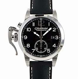 Graham Chronofighter 2CXAS.B0 Steel Watch