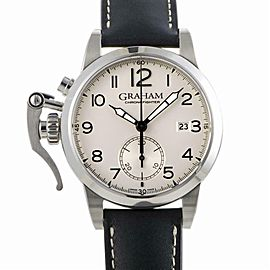 Graham Chronofighter 2CXAS.S0 Steel Watch