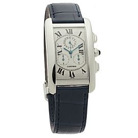 Cartier Tank Americaine W2603356 Gold 27mm Watch