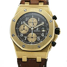 Audemars Piguet Royal Oak Offshore 26007BA. Gold 44mm Watch