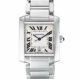 Cartier Tank Francaise W50011S3 Gold 32.0mm Watch