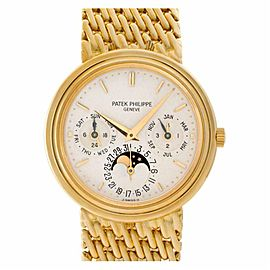 Patek Philippe Perpetual Calendar 3945/001 Gold 36.0mm Watch