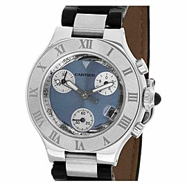 Cartier Must 21 2996 Steel 31.0mm Watch