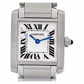 Cartier Tank Francaise W51008Q3 Steel 20.0mm Women's Watch