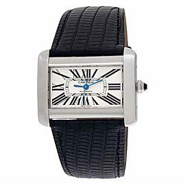 Cartier Tank Divan W6300755 Steel 24.0mm Watch