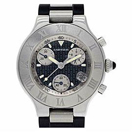 Cartier Must 21 W10125U2 Steel 38.0mm Watch