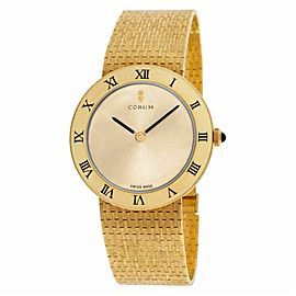 Corum Classic 57104-10 Gold 34.0mm Watch