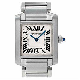 Cartier Tank Francaise W51008Q3 Steel 18.0mm Women's Watch