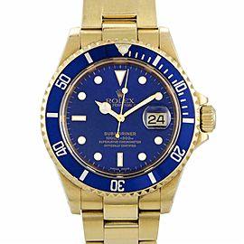 Rolex Submariner 116618 Gold Watch