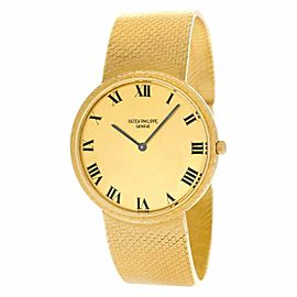 Patek Philippe Calatrava 3520 Gold 32.0mm Watch