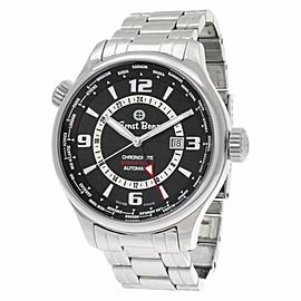 Ernst Benz Chronoflite World Timer GC10851/ Steel 47.0mm Watch