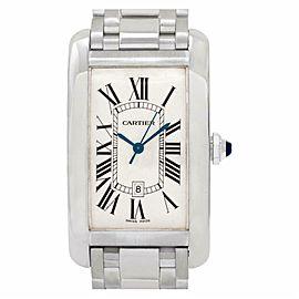 Cartier Tank Americaine W2605511 Gold 45.0mm Watch