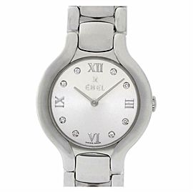 Ebel Beluga E9157421 Steel 0.0mm Women's Watch