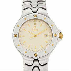 Ebel Sportwave 6087631 Steel 34.0mm Watch