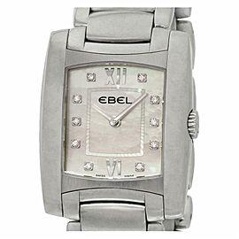 Ebel Brasilia Chronograph A125087 Steel 34.0mm Women's Watch