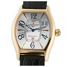 Ulysse Nardin Michelangelo Big Date 236-48 Gold 35mm Watch