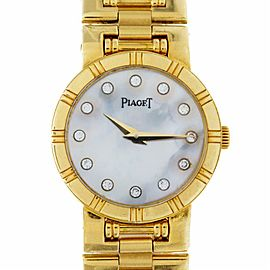 Piaget Dancer 80563K81 Gold 23.0mm Women's Watch