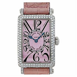 Franck Muller Long Island 902 QZ D Gold 32.5mm Women's Watch