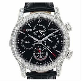 Jaeger Lecoultre Master Control 149.6.95 Platinum 51.5mm Watch