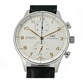 Iwc Portuguese IW371401 Steel 41mm Watch