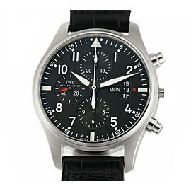 Iwc Pilot IW377701 Steel 43mm Watch