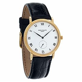 Patek Philippe Calatrava 3919 Gold 33.0mm Watch