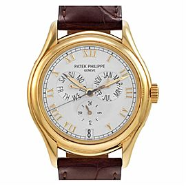 Patek Philippe Annual Calendar 5035J Gold 37.0mm Watch