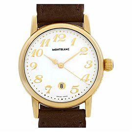 Montblanc Meisterstuck 7008 Gold 31.0mm Watch