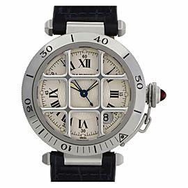 Cartier Pasha W3102255 Steel 38.0mm Watch