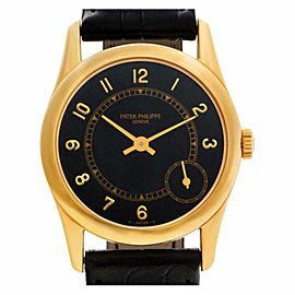 Patek Philippe Calatrava 5000J Gold 33.0mm Watch