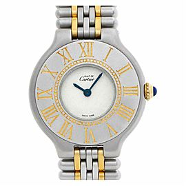 Cartier Must 21 A00382 Steel 28.0mm Women's Watch