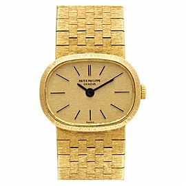 Patek Philippe Ellipse 3373 Gold 17.0mm Women's Watch