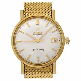 Omega Seamaster 14743 SC Gold 34.0mm Watch