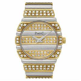 Piaget Polo 861 C 70 Two Tone 24.0mm Women's Watch