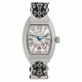 Franck Muller King Conquistador 8005 CC Steel 46.0mm Watch